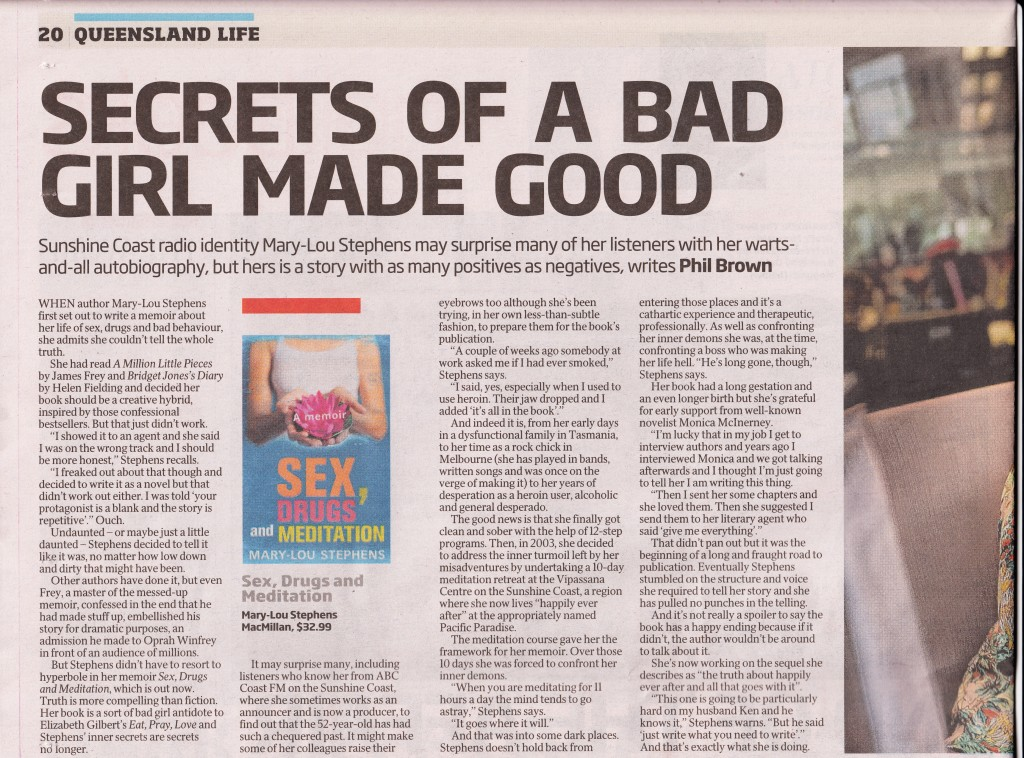 Courier Mail 30th March