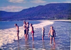 Mum & kids beach 2